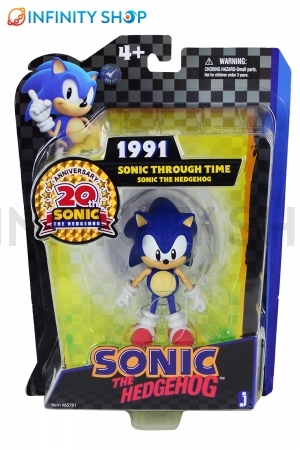 Sonic The Hedgehog Trough time 1991 - 20th anniversary