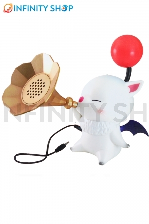 Final Fantasy XIV A Realm Moogle Speaker Classical Trumpet Horn Type Red ver.