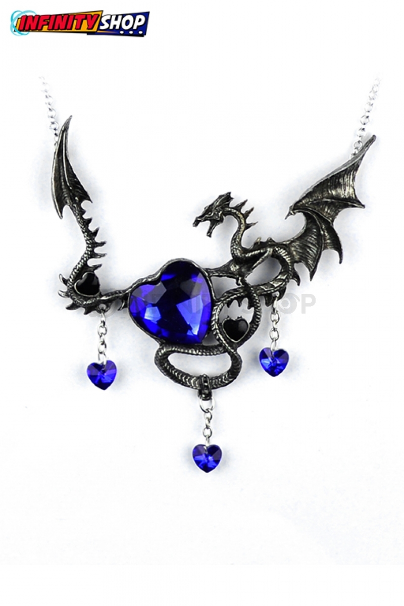 Collana Dragon Heart Blue