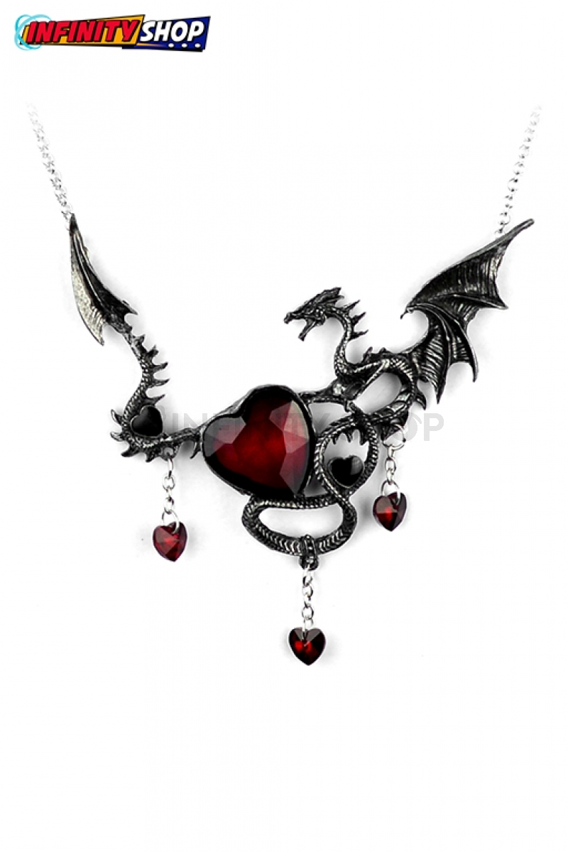 Collana Dragon Heart Red