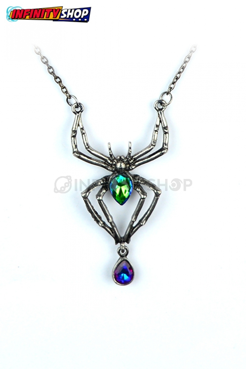 Collana Spider Drop