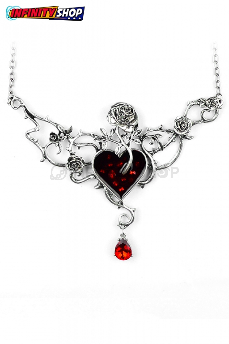 Collana Rose and Heart