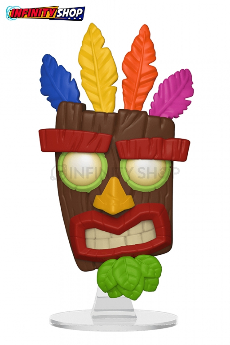 Crash Bandicoot POP! Games Aku Aku