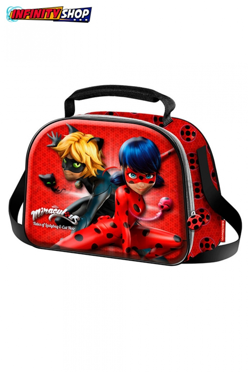 Ladybug Lunch Bag 3D - Miraculous