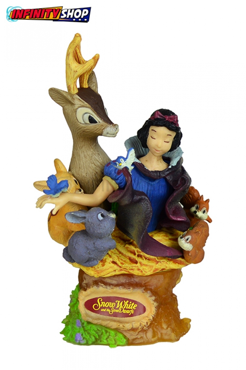 Snow White Statuette - Snowhite and Animal Forest