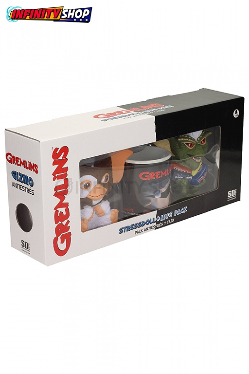 Gremlins Gift Box - 2 Anti-Stress e 1 Tazza