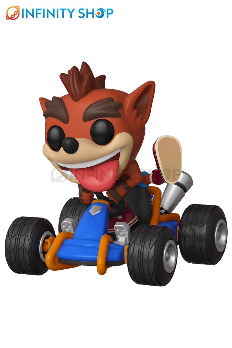 Crash Racing POP! Rides Crash Bandicoot - 64